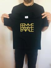 Dětské triko FEMME FATALE černé