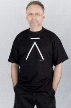 Pánské triko Á černé