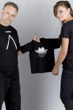 Dětské triko VE SMÍRU černé