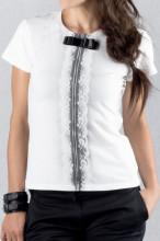 Dámské triko NOW bílé