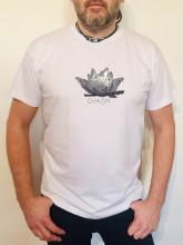 Pánské triko VE SMÍRU bílé