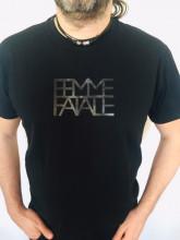 Pánské triko FEMME FATALE černé